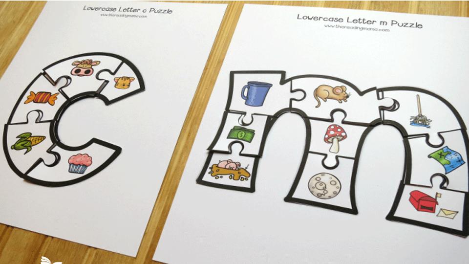 photograph regarding Alphabet Puzzle Printable referred to as Alphabet Puzzle